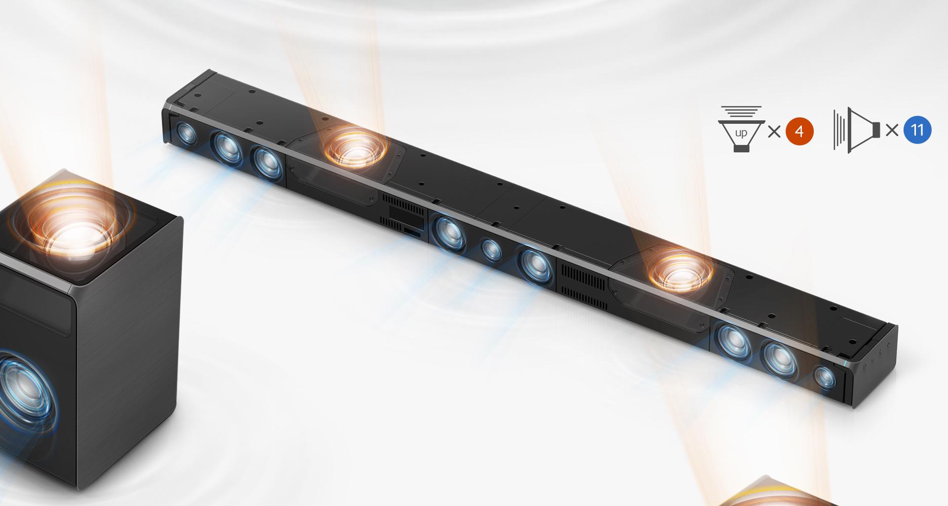 Технические характеристики саундбара Samsung HW-K950