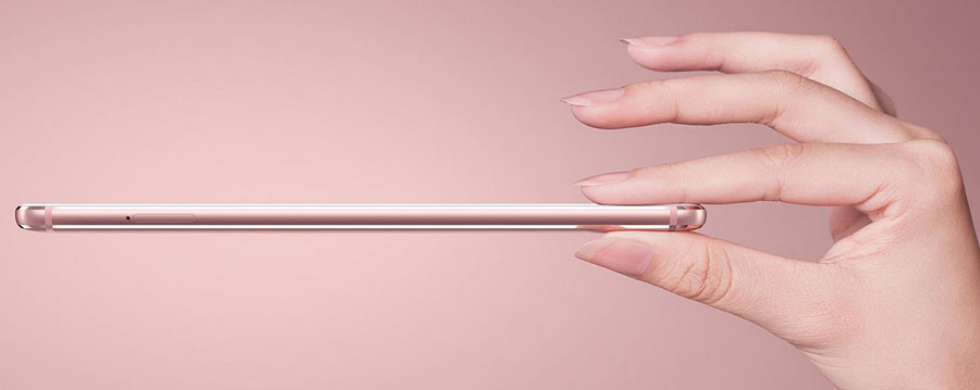 Толщина смартфона Meizu Max