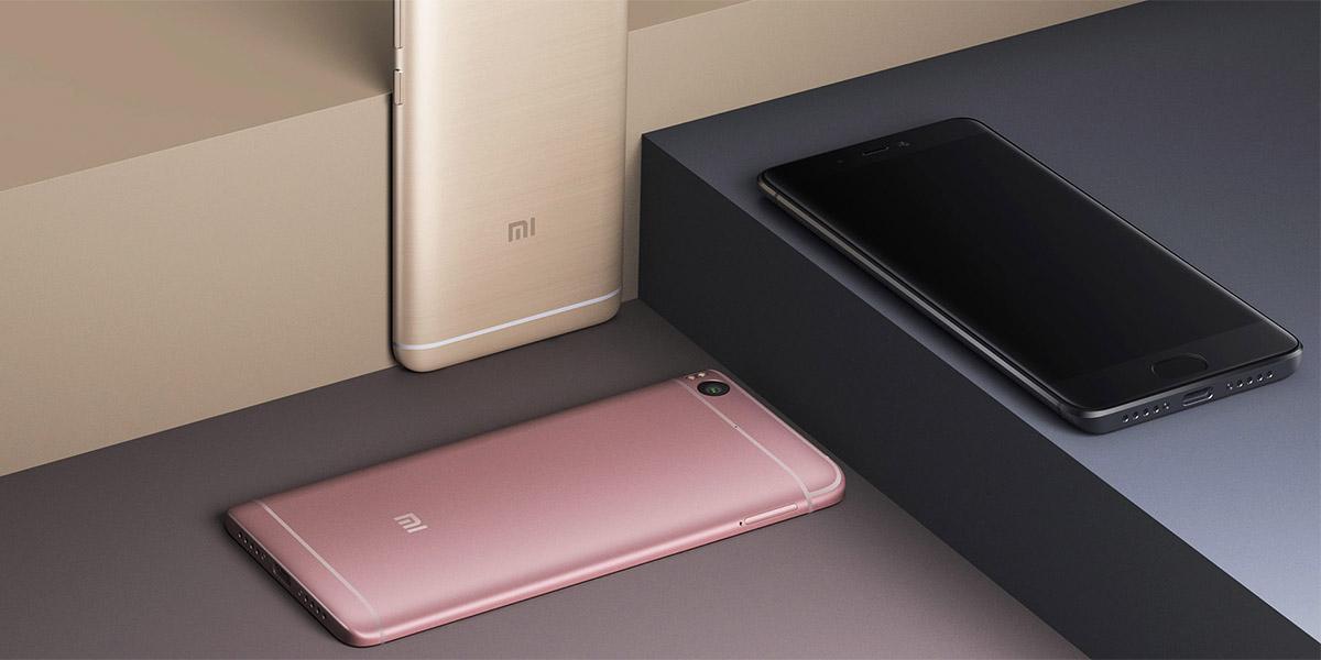 Цвета Xiaomi Mi5S