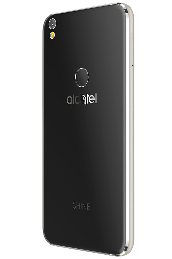 Черный Alcatel Shine Lite