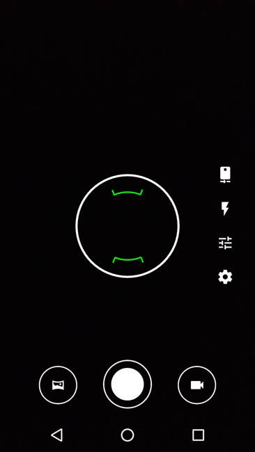 Wileyfox Spark - видоискатель камеры