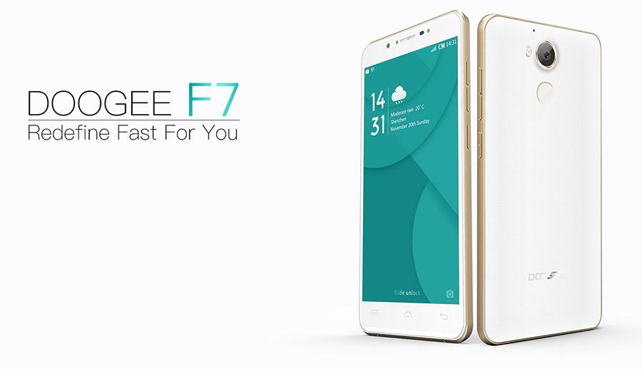 Doogee F7 поступил в продажу 19 сентября