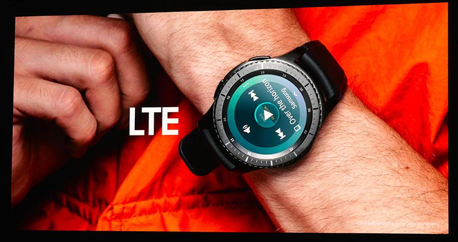 Samsung Gear S3 поддерживает LTE