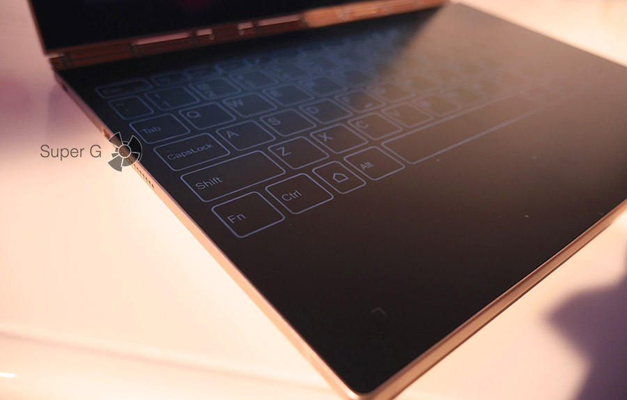 Подсветка клавиатуры Lenovo Yoga Book