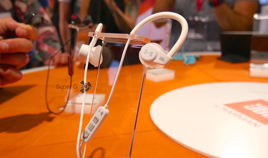 Наушники UA Sport Wireless Heart Rat с датчиком сердечного ритма