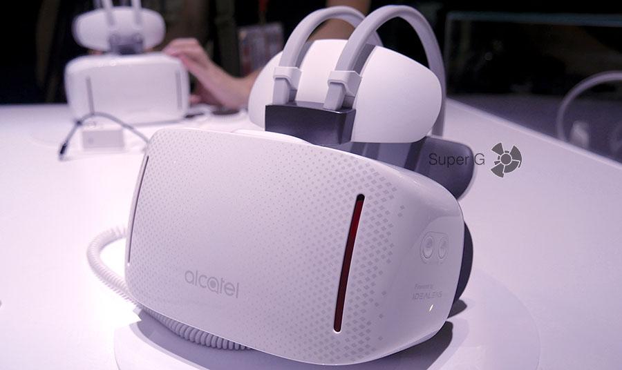 Шлем виртуальной реальности Alcatel VISION