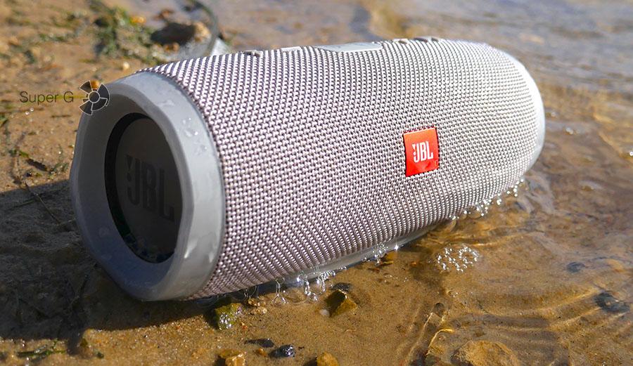 Тест JBL Charge 3 в воде