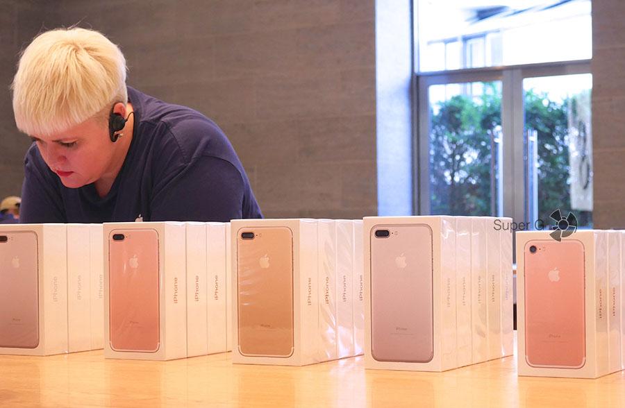 Покупка iPhone 7 в Берлине