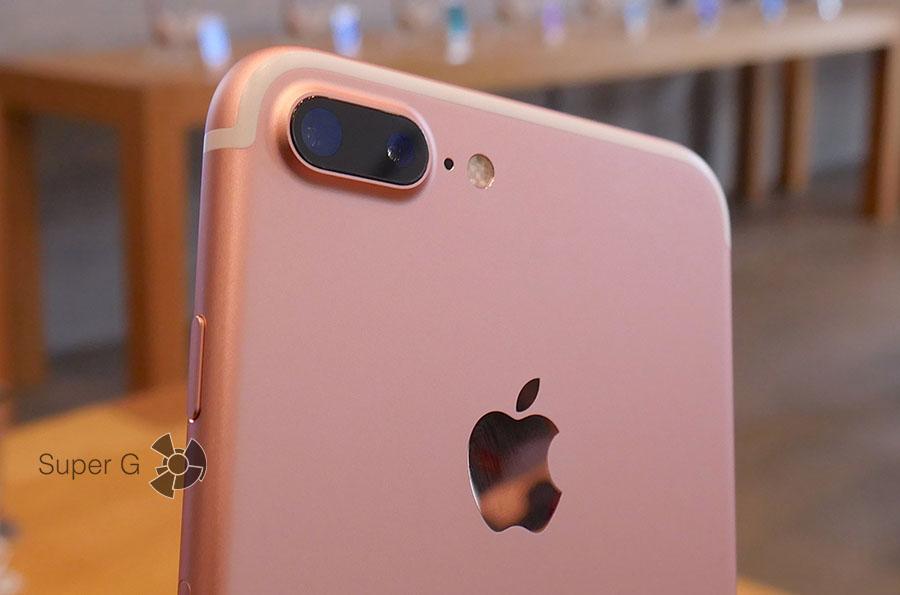 Камеры смартфона iPhone 7 Plus