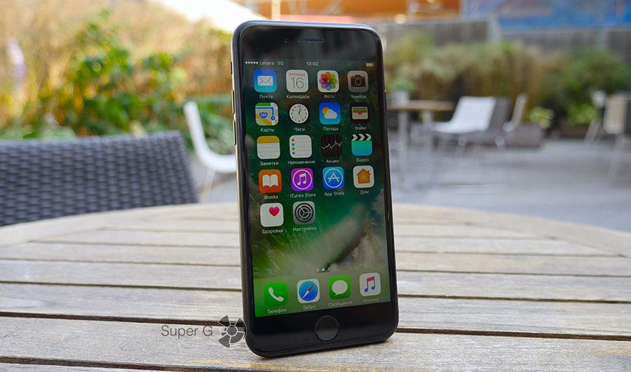 Реальное фото iPhone 7