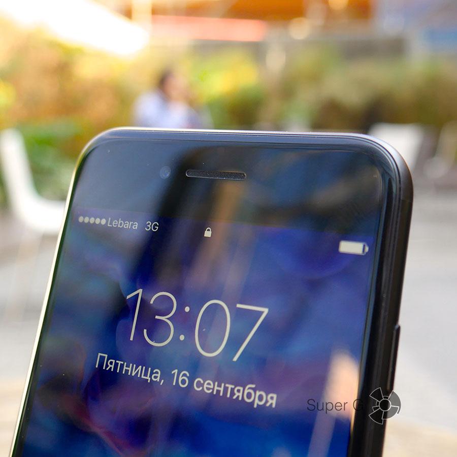 Защитное стекло 2.5D iPhone 7