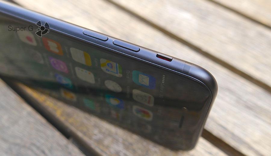 Переключатель режима Без звука в iPhone 7