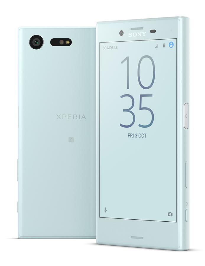 Sony Xperia X Compact нежно-бирюзовый