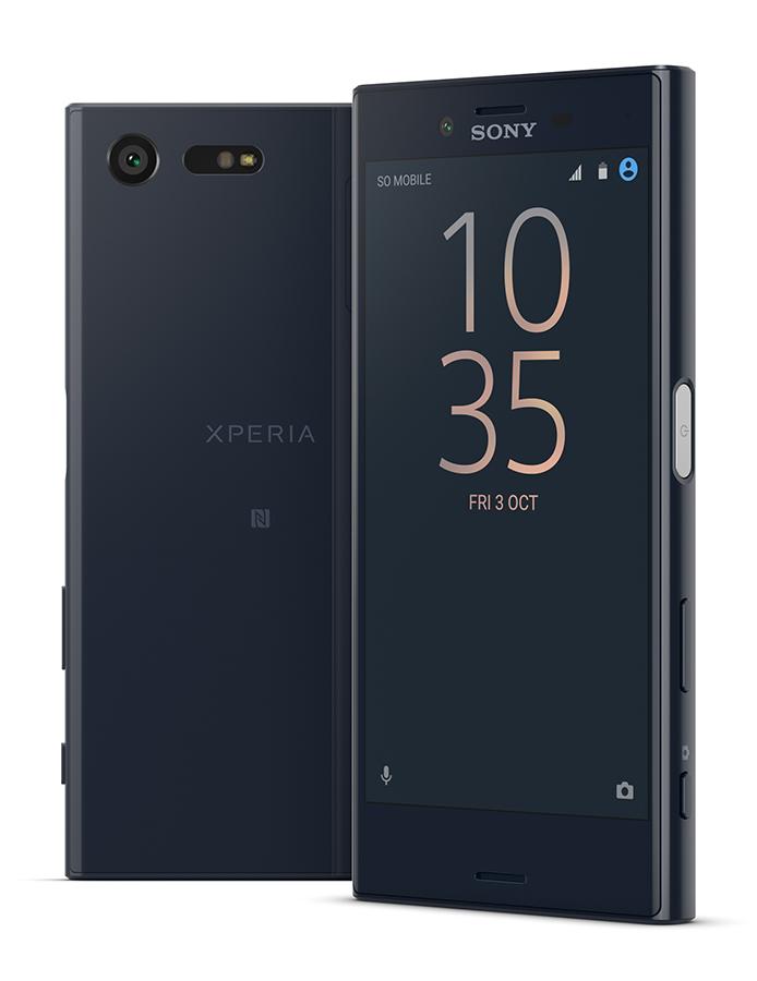 Sony Xperia X Compact темно-синий