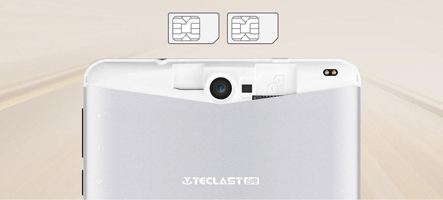 Планшет Teclast X70 R поддерживает две SIM-карты