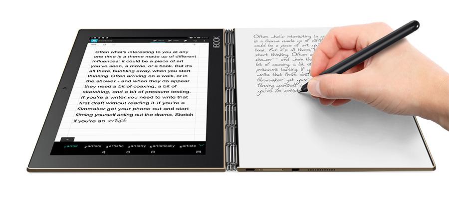 IFA 2016: Lenovo Yoga Book - рукописный ввод
