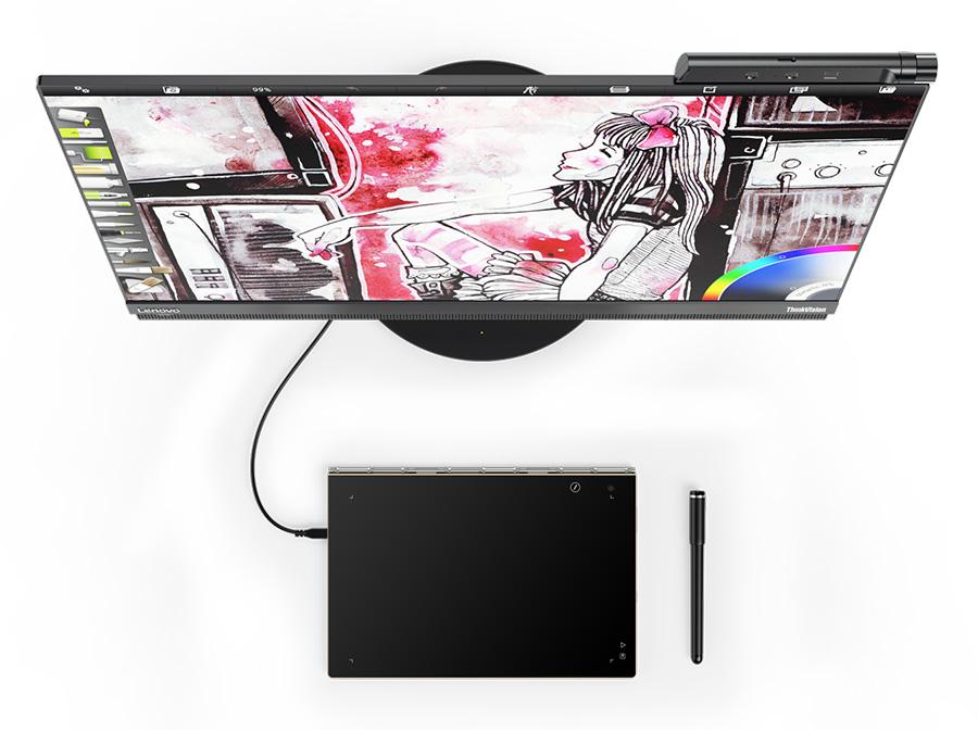 IFA 2016: Lenovo Yoga Book в качестве графического планшета