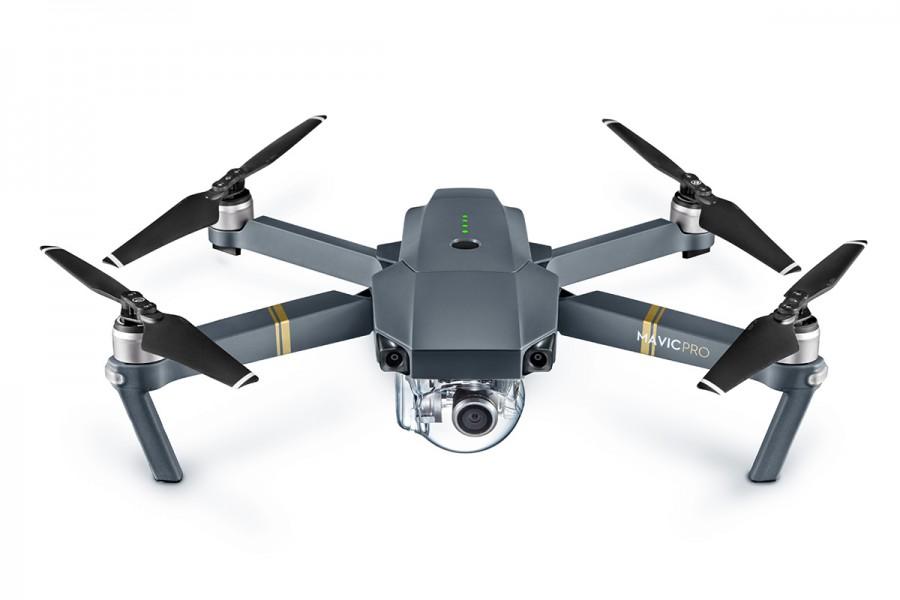 Квадрокоптер DJI Mavic Pro может работать в паре с VR гарнитурой