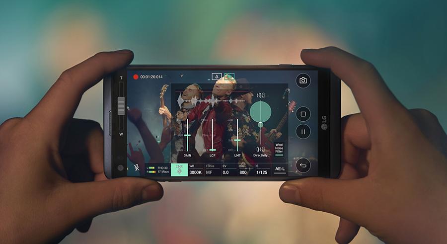 LG V20 - видеосъемка