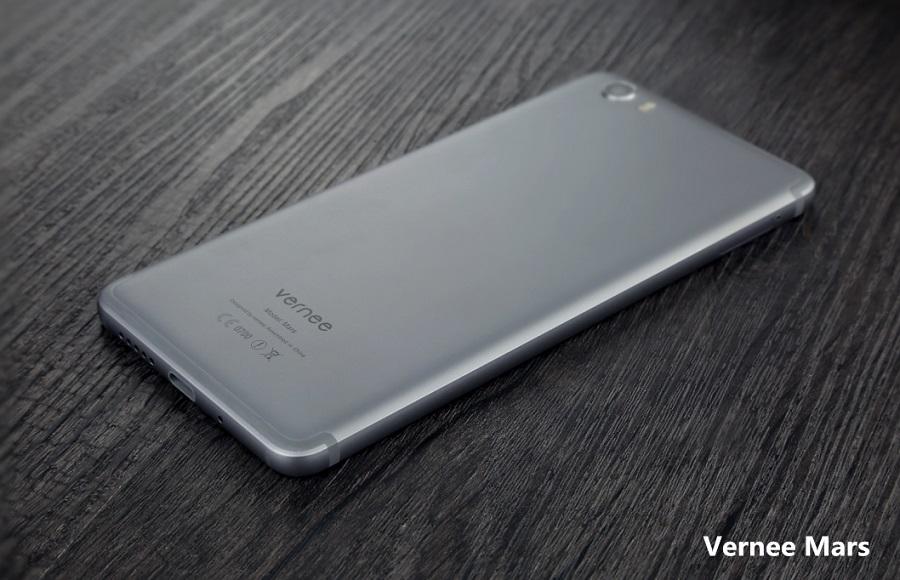 Vernee Mars - алюминиевый корпус