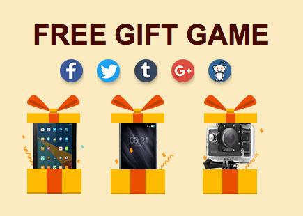 Подарки для участвующих в акции покупателей Gearbest