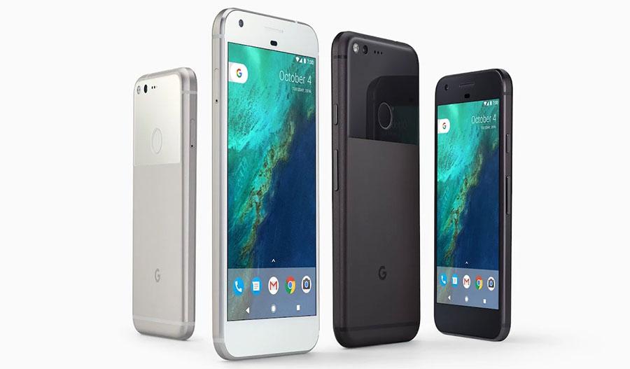 Цвета Google Pixel, продающиеся в России