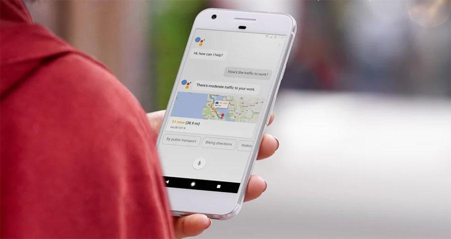 Голосовой помощник Google Assistant на Google Pixel