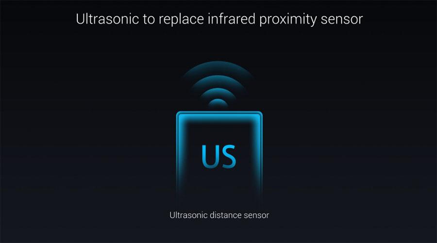 Ультразвуковой датчик расстояния в Xiaomi MIX