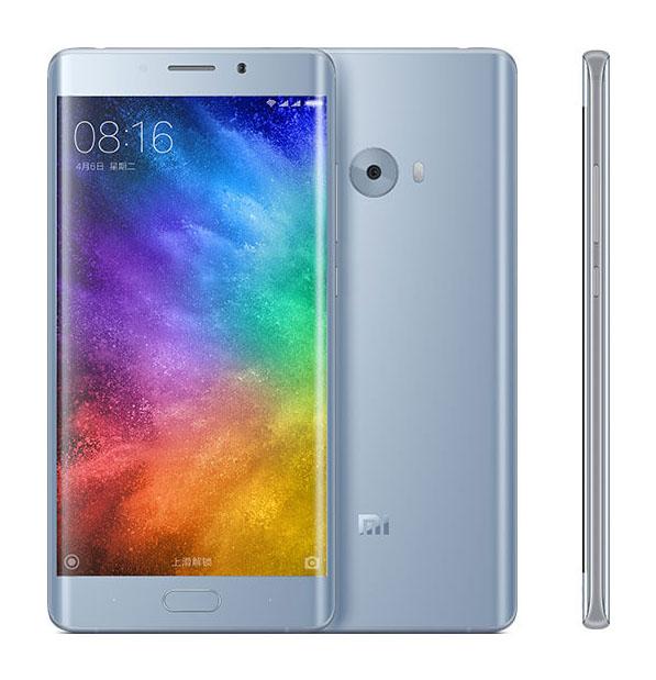 Серебристо-ледяной цвет Xiaomi Mi Note 2