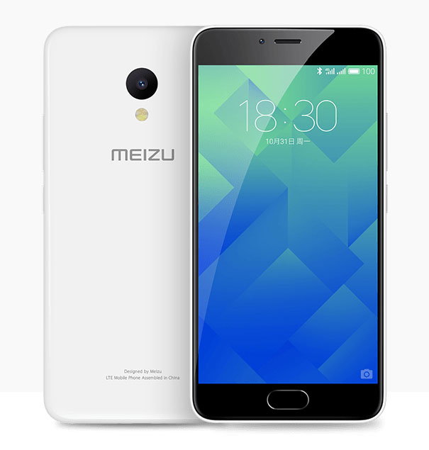 Белый Meizu M5