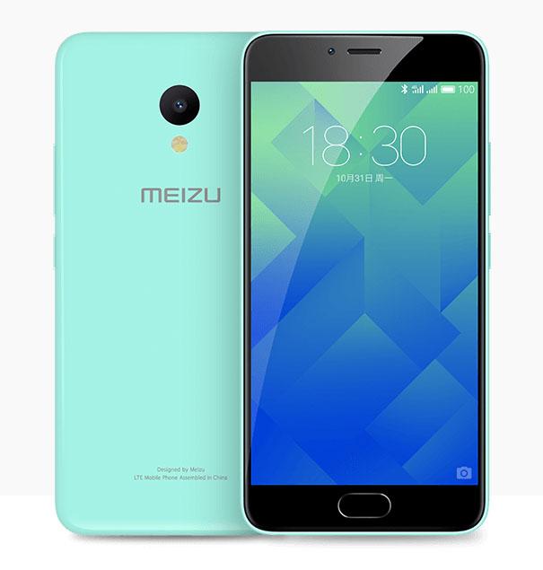 Мятный Meizu M5