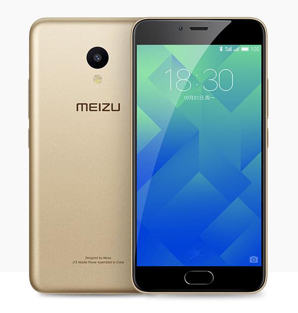Золотой Meizu M5