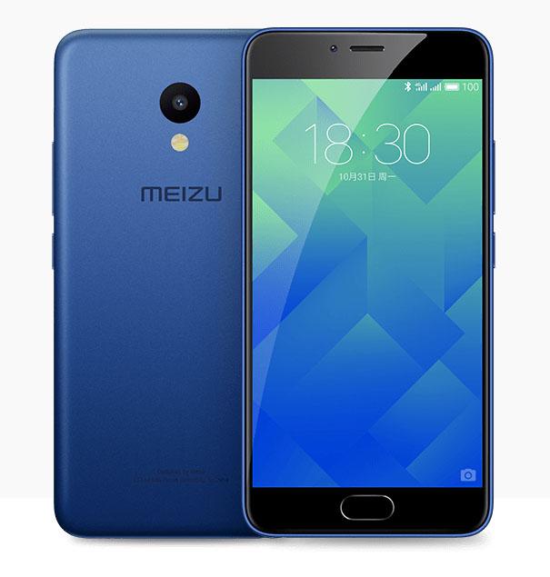 Синий Meizu M5