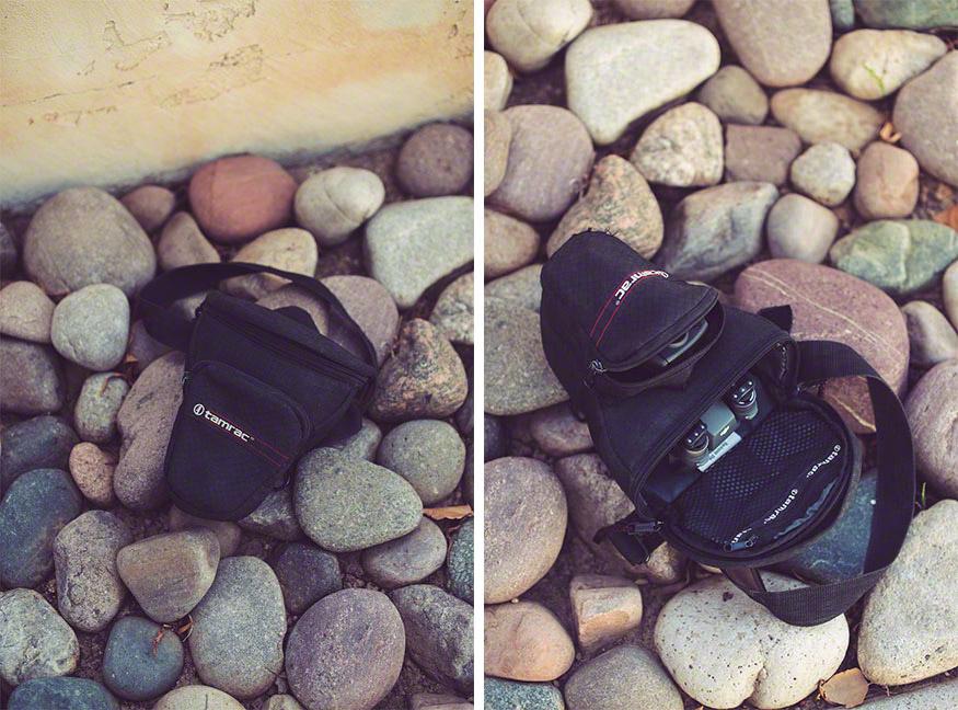 DJI Mavic Pro спокойно помещается в сумку для фотоаппарата
