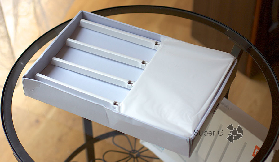 Коробка Xiaomi Mi Router 3 - официальная поставка