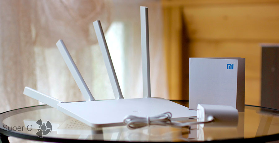 Комплектация Xiaomi Mi Router 3