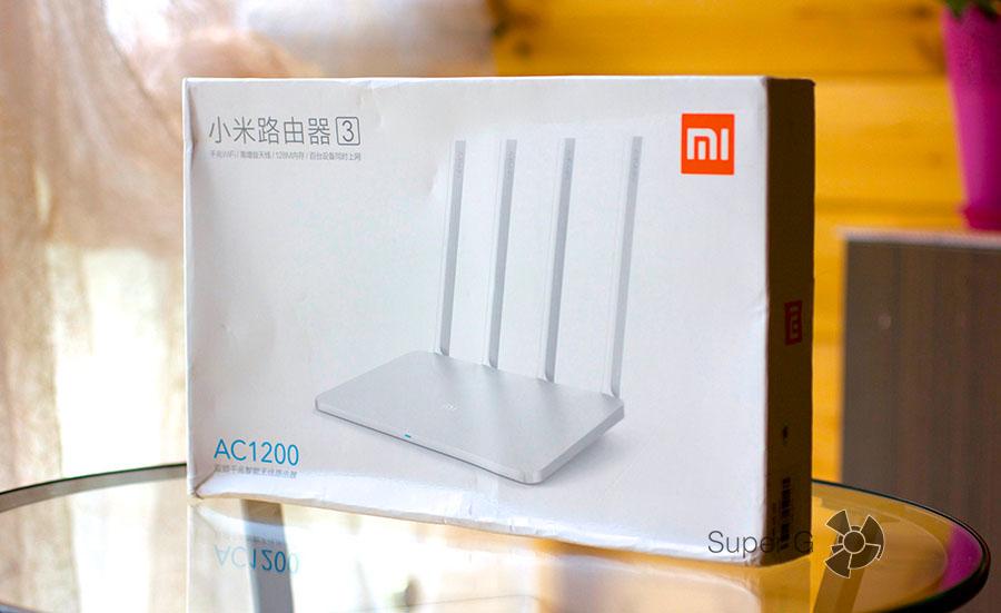 Распаковка Xiaomi Mi Router 3