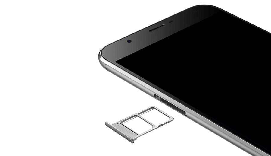Oukitel U15 Pro поддерживает работу двух Micro SIM карт