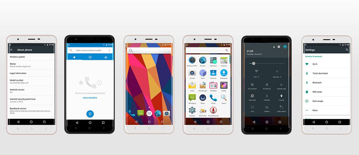 Oukitel U15 Pro работает на ОС Android 6.0