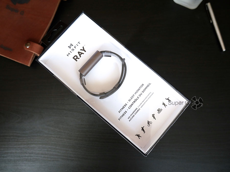 Misfit Ray - распаковка