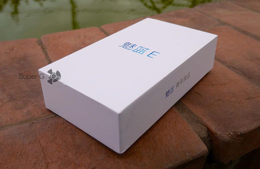 Коробка Meizu M3E и распаковка