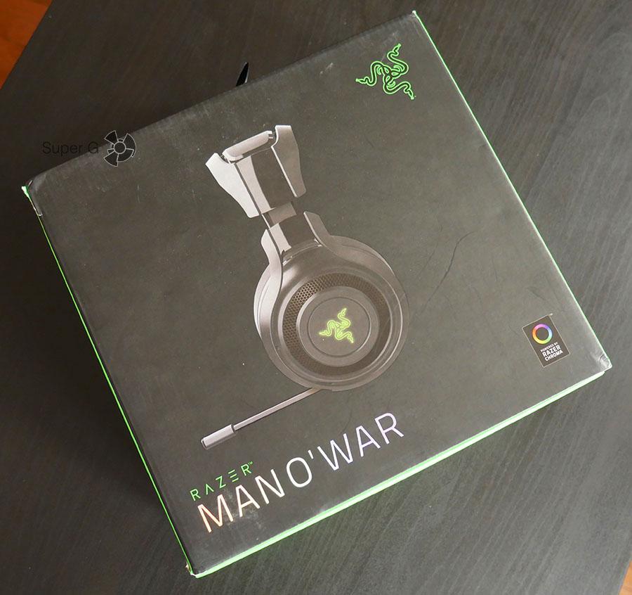 Коробка из-под Razer ManO`War