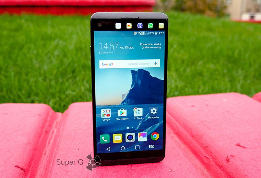 Смартфон LG V20 дата выхода в России и в мире