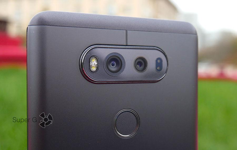 Тест камер LG V20