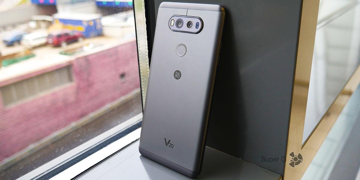 Технические характеристики LG V20