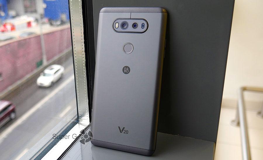 Металлический корпус смартфона LG V20