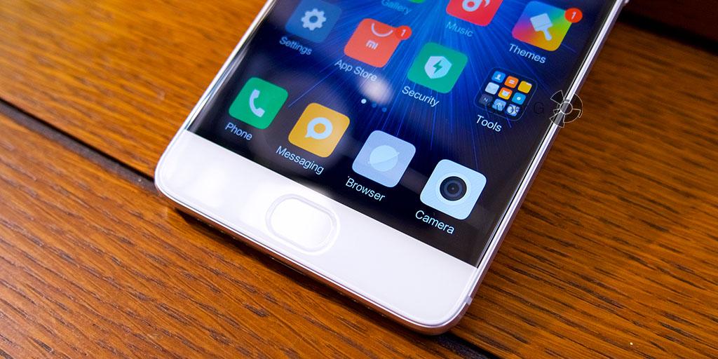 Сканер отпечатков пальцев и кнопка Домой в Xiaomi Mi5S