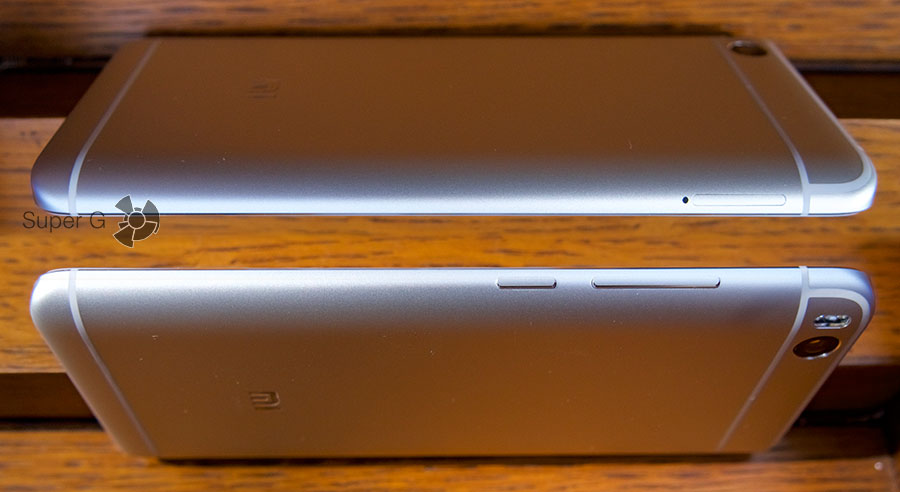 Кнопки регулировки громкости и включения в Xiaomi Mi5S