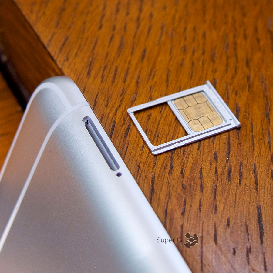 Xiaomi Mi5S поддерживает работу двух Nano SIM-карт