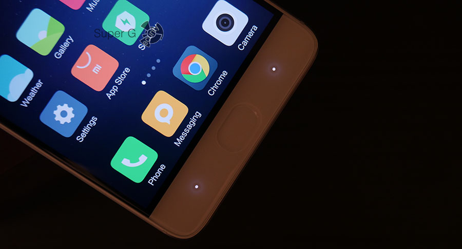 Xiaomi Mi5S - подсветка сенсорных клавиш